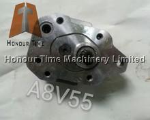 Excavator gear pump for A8V55 hydraulic parts gear pump