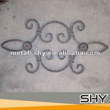 2014 China Manufacture Handcrafted Forged Iron Elements Design for Staircase Fence of Solid Bar