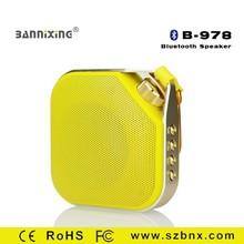 New product B-978 portable bluetooth wireless speaker