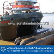 launching use inflatable lower cost high pressure tube