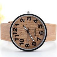 fashion natural wholesale wood watch vogue wrist wood watch for men and women with customized logo