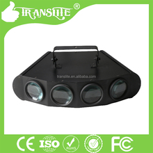 DJ half moon 4 Heads Stage Led Moving Head Beam Hottest 4 head RGBW Moonflower Effect + Sound Control