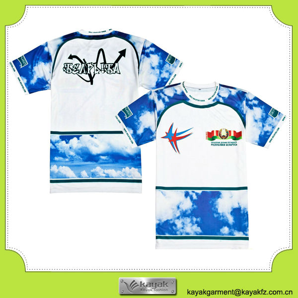 High Quality Custom Printed T Shirt With Your Own Design