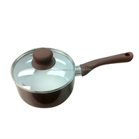 High quality aluminum ceramic milk pot