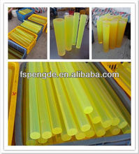 solid rubber rod