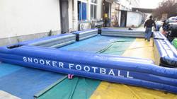 inflatable Billiard tables/snookball table soccer game/ inflatable snook ball