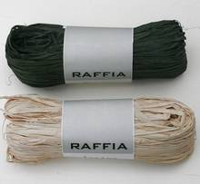 Raffia raw material to packing gift