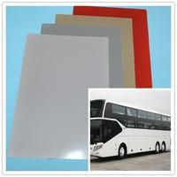 Fiberglass Reinforced Plastic FRP panel for bus, trailer, truck body