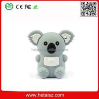 cartoon animal pvc koala usb 2 tb usb flash drive, cute koala shape usb flash 2tb