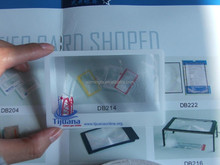 credit card size plastic fresnel lens