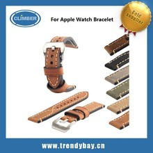 Stock !!! Original Leather fashion leather bracelet for Apple Watch