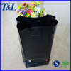 Eco-friendly oxo-biodegradable LDPE black color custom made plastic plant bags, plastic bags for plants