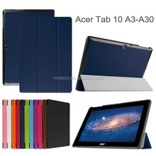Wholesale factory price tablet case cover for Acer Iconia Tab 10 A3-A30 tablet cover case