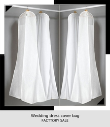 Wedding dress cover/garment bag