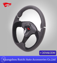 New Novelty Performance Auto Leather 13 inch Steering Wheel Parts (RC-5150)