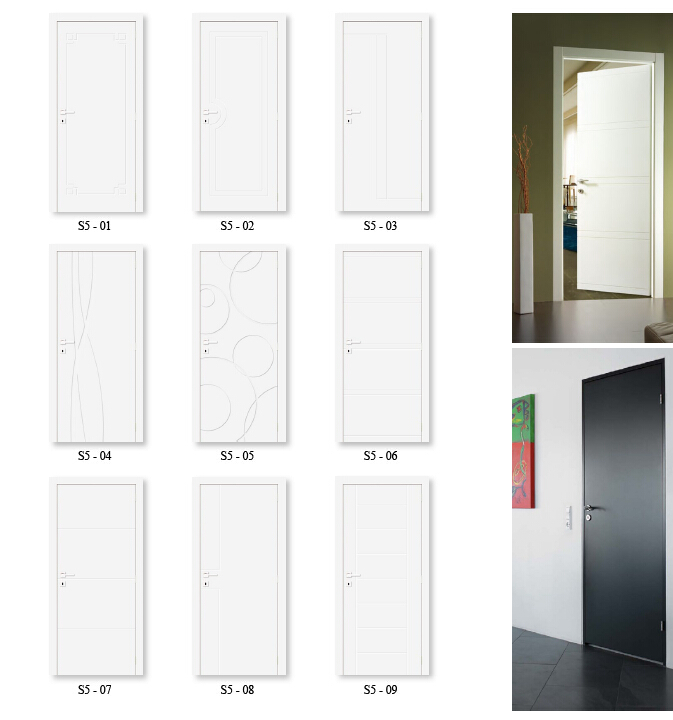 Delicieux Flush Door  White 2