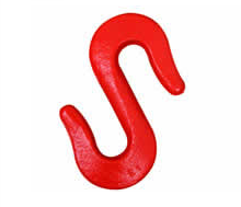 High quality lifting equipment alloy steel forged S hook