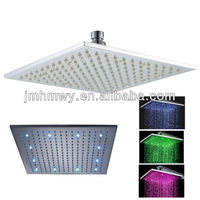 new amazing automatic 3 color change led high pressure shower head