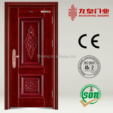 Cheap Apartment front entry copper steel doors FOR SALE