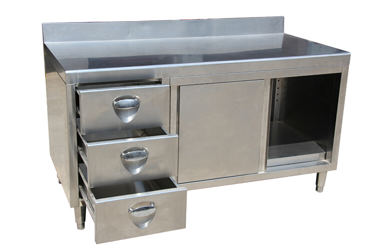 Stainless Steel Commercial Kitchen Cabinet Industrial Stainless Steel