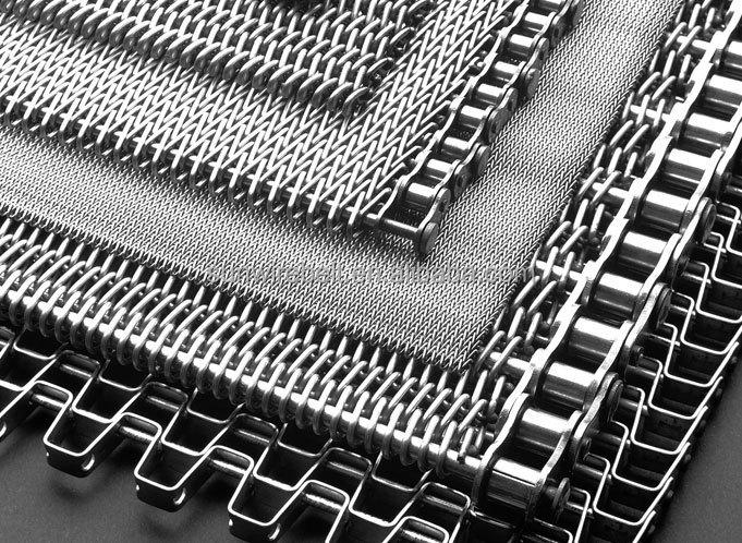 Luz solar de tubos de rolos de suporte de aço inoxidável cinto conveyoraisi314/ss304/316