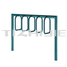 Urban street furniture rack bike carrier standing metal bike display racks