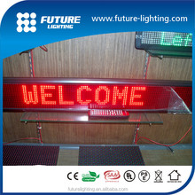 2015 Made in Shenzhen Best Sale 16*128 dots two lines programmable electronic sign led display
