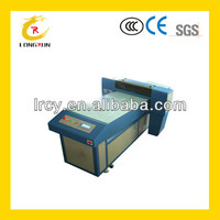 plastic button uv printing machine / uv button printer with glossy
