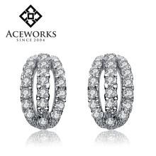 2015 Fashion 925 silver jewellery earrings cheap online silver earrings posts