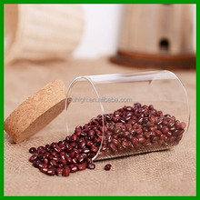 snack glass food storage container