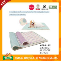 New!!! Professional Wholesale Luxury Quilting Beds Non Slip Bottom Soft Towel Fabric Lining Pet's Pad Dog Bed