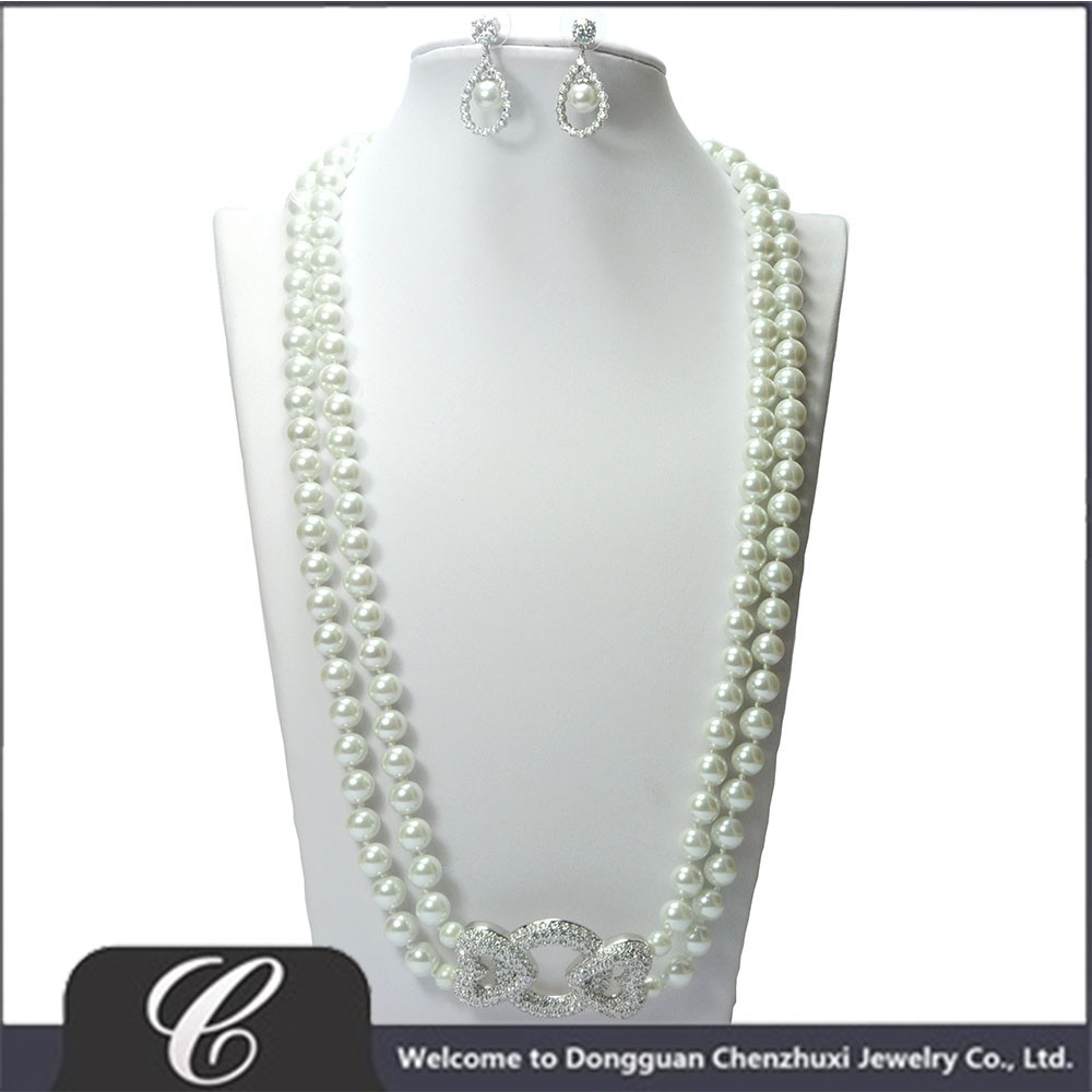 two strand knotted necklace and earring set 3.jpg