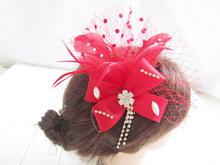 Corona de flores artificiales accesorio de pelo de buena calidad