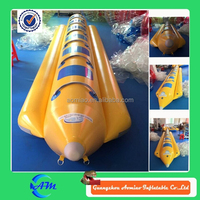 new style inflatable water games flyfish banana boat for sale