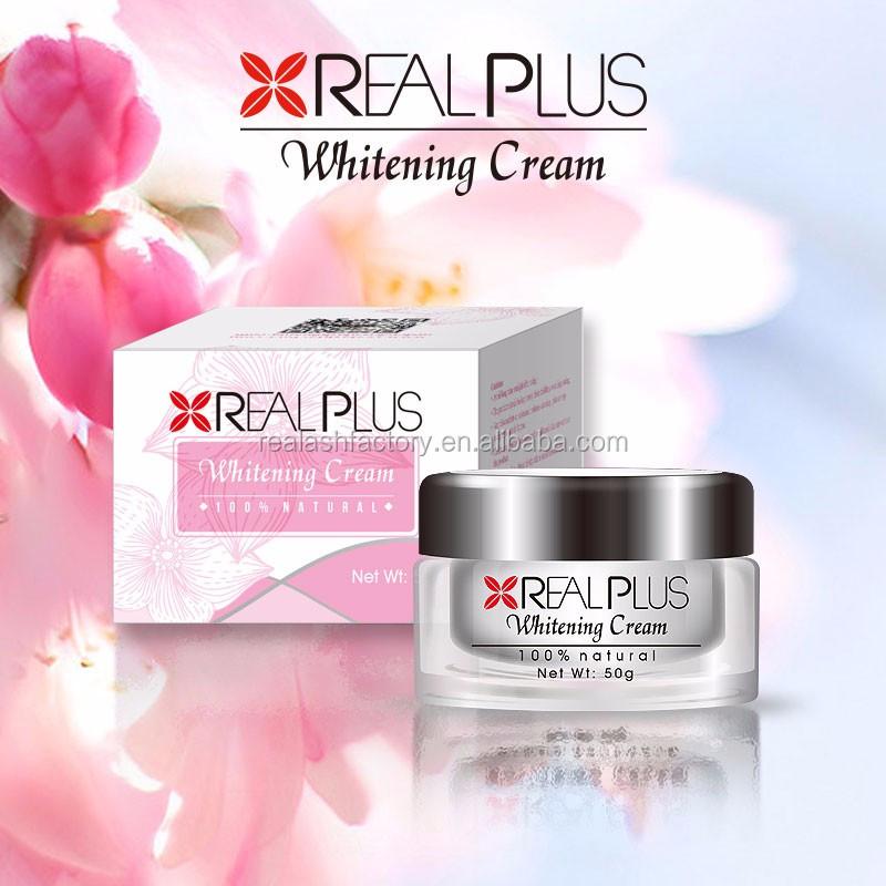 Les crèmes de beauté blanchissant et les corps