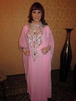 pink Fashion abaya saudi arabia sale high quality muslim cafta arab letest new design islamic jilbab hijab dress k6840