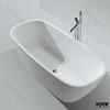Kingkonree bathtub, shaped bath, freestanding bathtub stone
