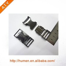 stainless steel quick side release buckle for dog collars