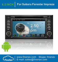 """6.2"""" Android4.0 Car DVD Player for Subaru Forester with 3G/Wifi,Gps Navgigation,Bluetooth,Ipod,Free map"""