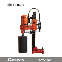 hand core drill concrete cutting equipment china borehole machines for sale SCY-1800
