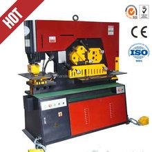 Q35Y hydraulic ironworker/ metal fabrication/Channel hydraulic bar machine steelworker multi ironworker universal ironworker