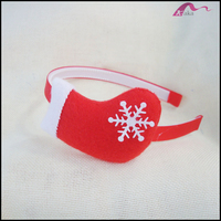 Wholesale Yiwu Factory Cotton Christmas Stocking Cos Decorations Hairband Headbands For Kids Girls Fashion Accessories