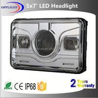 high low beam led headligh 5x7 inch truck led square high low beam headlight rectangle auto led headlight 5x7