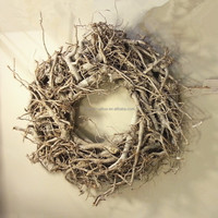 high quality wicker decoration wreath factory supply