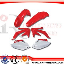 Enduro Offroad Dirtbike Mudguard Fender Body Cover Fairing For Honda CRF 250 450 05