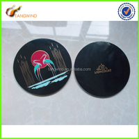 2015 eco friendly promotional adhesive cork cup pad/ cup coaster pad /cork protector pad TWC15005