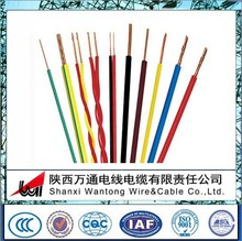 BV/BVVR/BLVVB/BVR Copper core PVC sheath electric wire power cable /electrical cables and wires