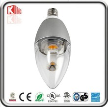 350LM high power 5w e14 led glitter candle light cheap led candle