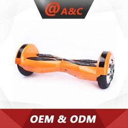 Hot Sell Best Quality 2015 New Design 2 Wheel Self Balancing Scooter With Led Bluetooth
