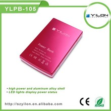 Easy to carry 5v1a micro usb 2015 mobile power bank charger